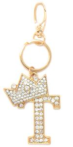 Large Crown Keychain