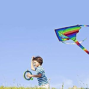kite string spool with reel Line