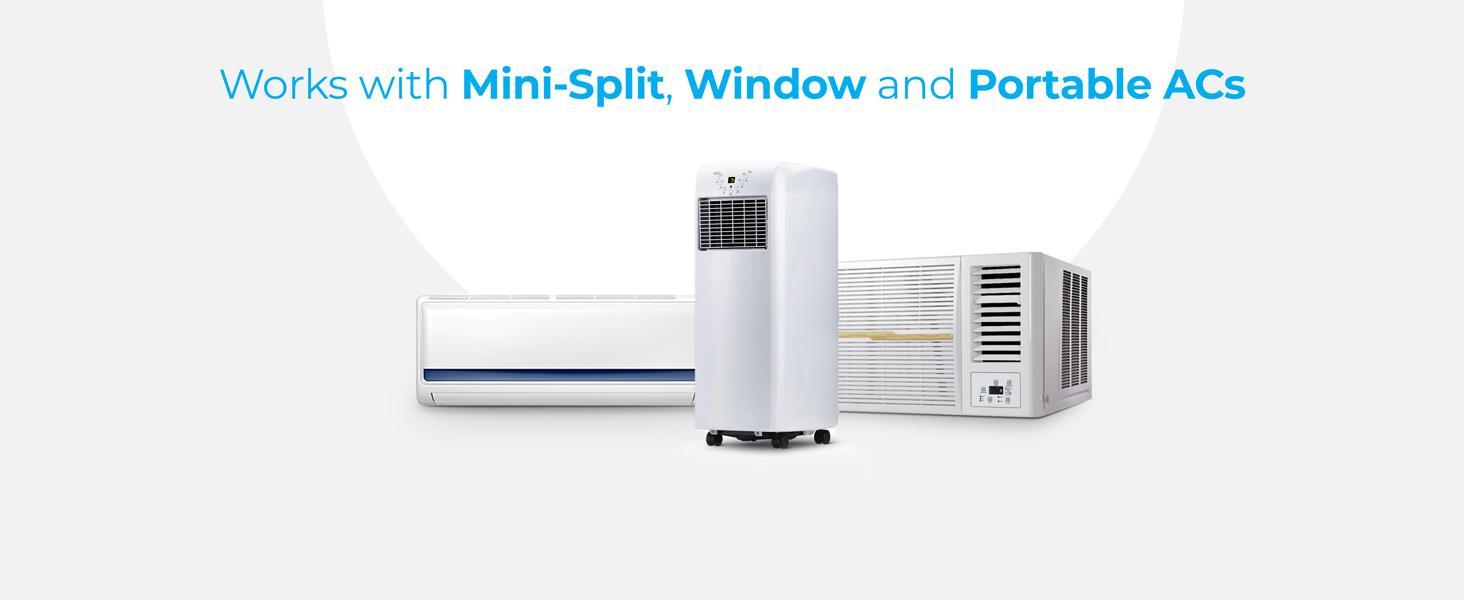 Make any mini-split, portable or window AC smart with Cielo Breez Eco
