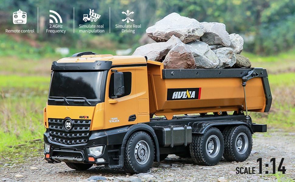 1/14 Scale RC Dump Truck