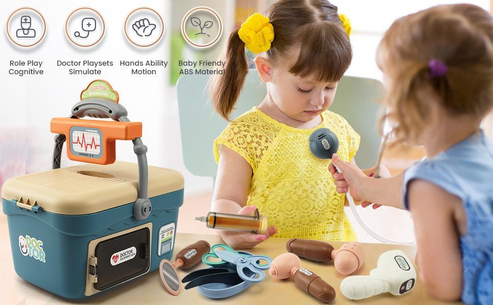 Doctor Kit for Kids Doctor Pretend Medical Kit Toys