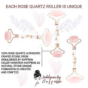 Face Roller Rose quartz