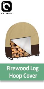 Firewood Log Hoop Cover
