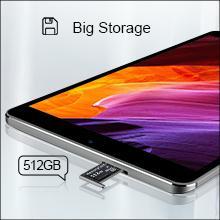 Big Storage - 3 GB RAM + 32 GB ROM (expandable up to 512GB)