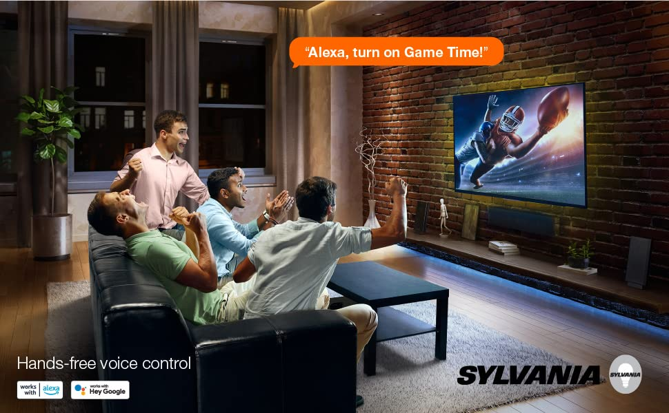 sylvania, wifi, flex, strip. light. led, smart