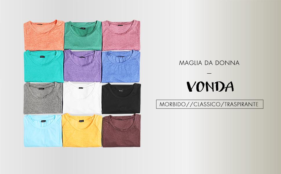 Maglia Donna Lunga Manica Camicie donna Baseball Shirt Invernale Estivi T shirt Maglietta