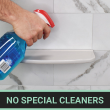 no special cleaners