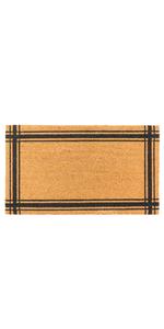 doormat durable non slip indoor garage front outside coir