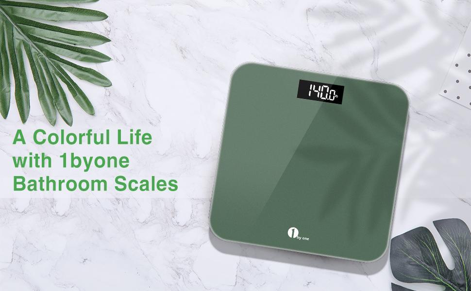 1byone digital body weight scale