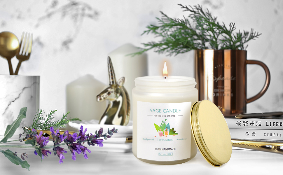 sage candles for cleansing