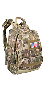 Camouflage Hiking Backpack