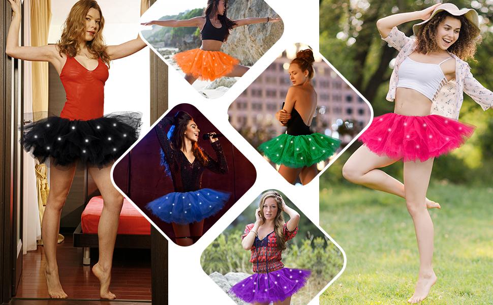 tulle tutu skirt for women