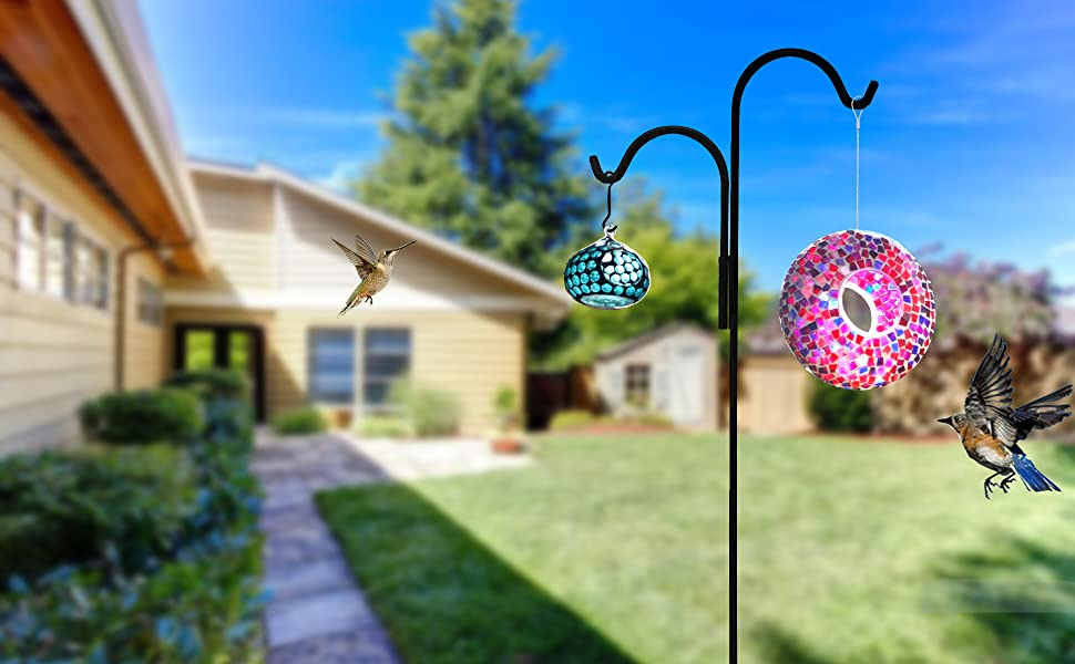 bird feeders for outside mosaic bird feeder flower bird feeders for outside glass bird feeder