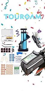 Bicycle Emergency Multi Tool Kit
