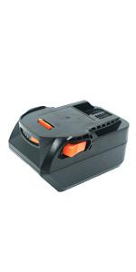 Heshunchang replacement battery for for AEG/Ridgid L1815R B1820R L1830R B1830R B1820