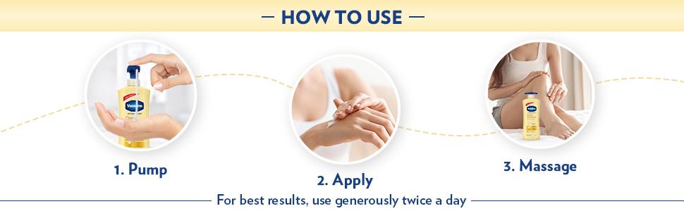 Vaseline Intensive Care Deep Moisture Body Lotion,600 ml