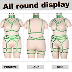 Plus Size Body Harness Set