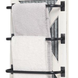 towel rack for wall racks bathroom mounted storage holder