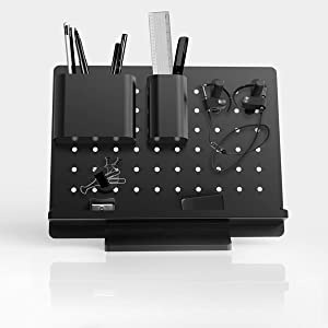 pegboard diy desk organizer metal peg board mesh desk organizer office storage