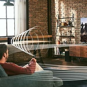 Wireless Surround Sound Compatible
