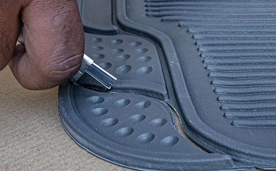 These Mats Fit In with Fit-To-Trim