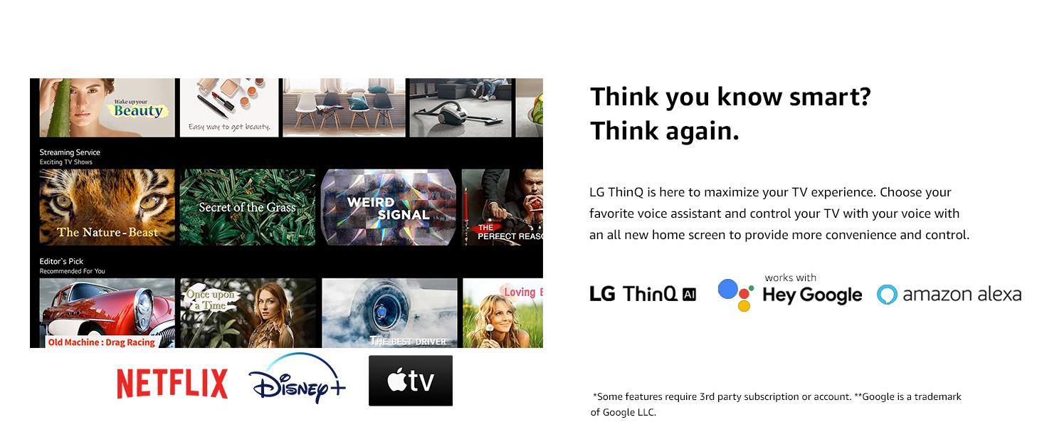 thinq ai smart tv webos
