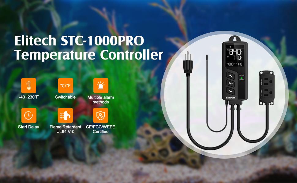 Elitech STC-1000Pro Temperature Controller