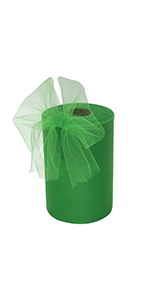 6x100 Green Tulle