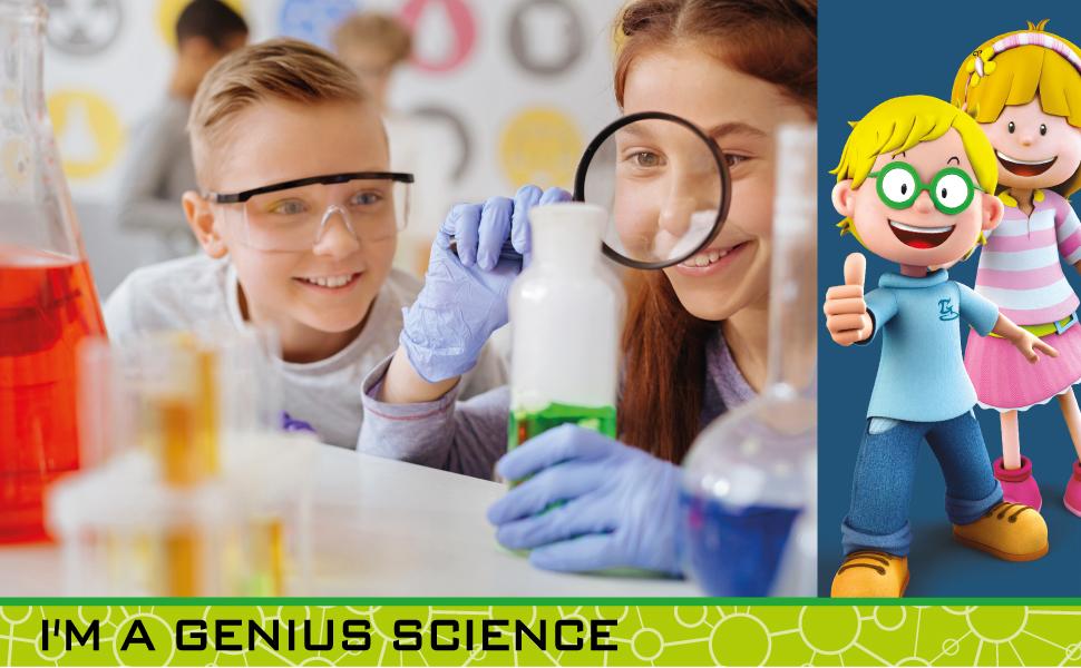 LISCIANI - I'm a Genius Jeu Scientifique- la Science Phosphorescente
