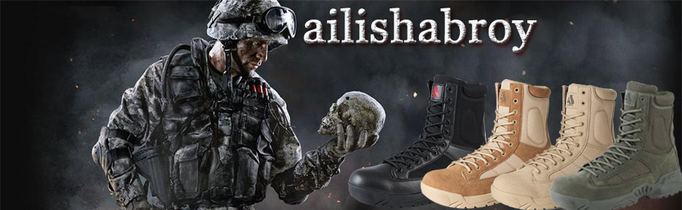 ailishabroy brand combat training boots, Are widely concerned and favored by American customers