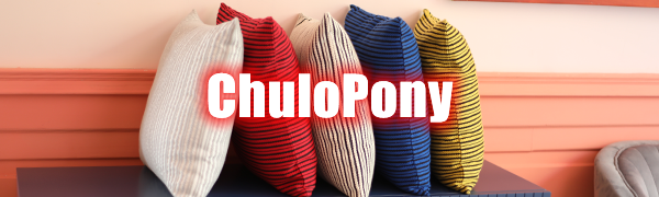 ChuloPony throw pillow covers