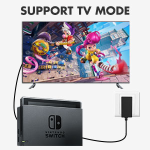 support switch tv dock mode