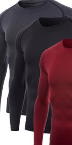 Menamp;amp;#39;s Long-Sleeve Compression Shirt