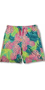This boys swim trunk features elastic waistband. durable amp;amp; comfortable. Quick dry fabric UPF 50+