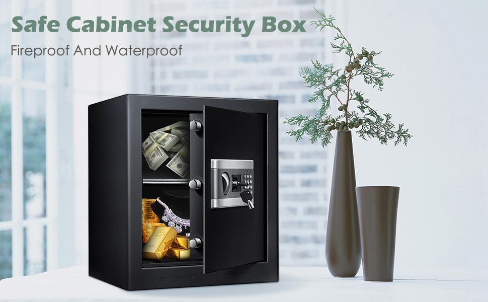 1.53Cub Security Safe Lock Box