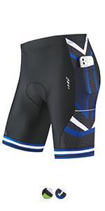 men bike shorts padded