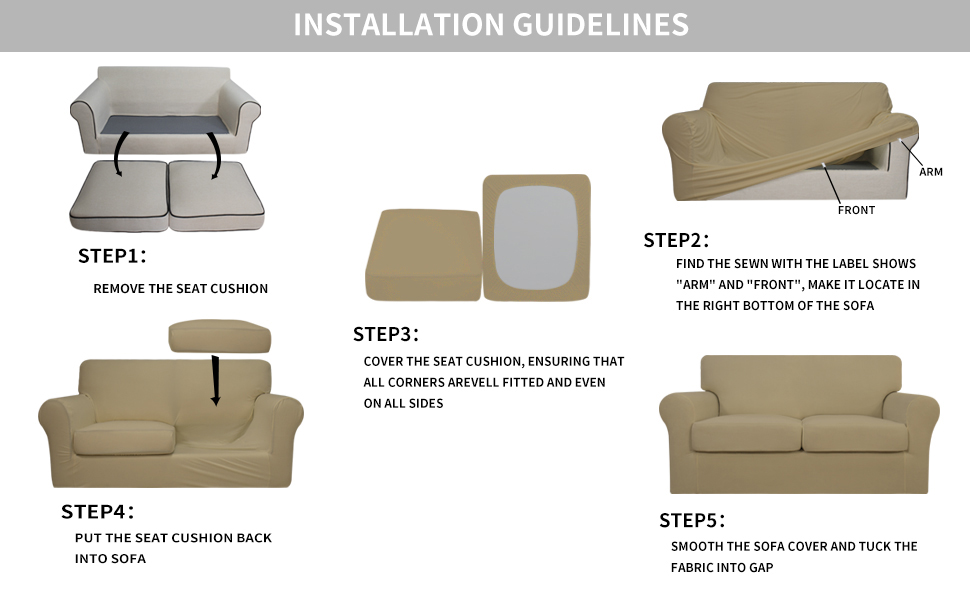 sectional sofa slipcover