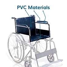 PVC armrest and Cushioned Seat