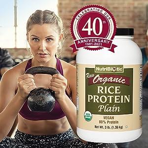Organic Rice Protein - Plain - 3001 - image