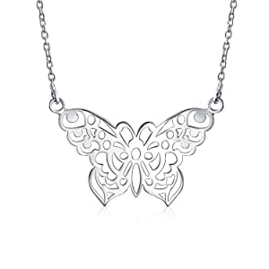 large silver patterned heart necklace.. unusual and gorgeous gift! Eye-catching