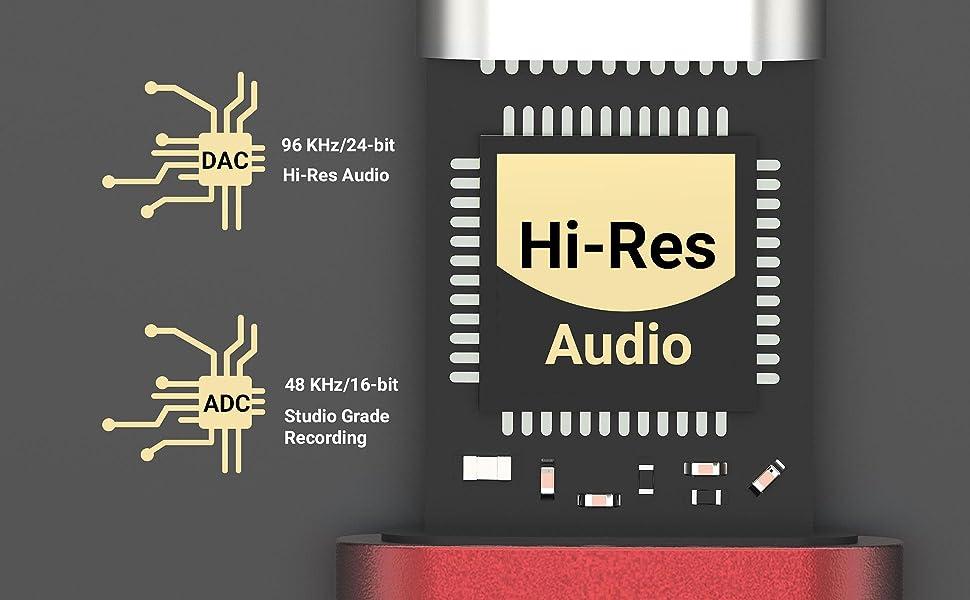 Superior audio performance