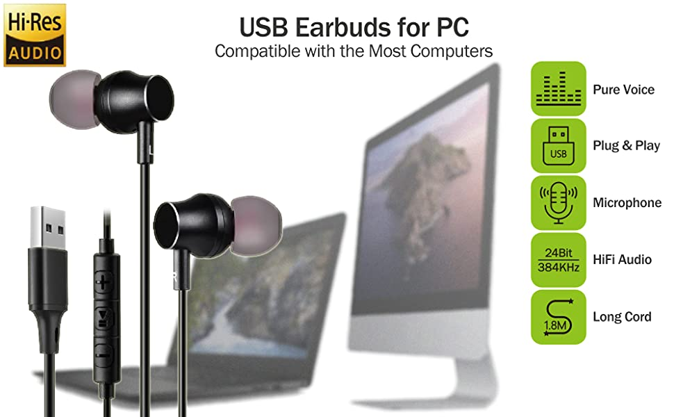 USB Earbuds for PC_970-600-1