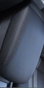 car armrest cover black