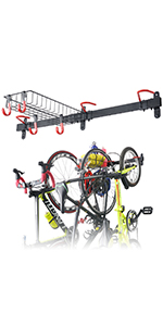 3 Bike Wall Storage Rack