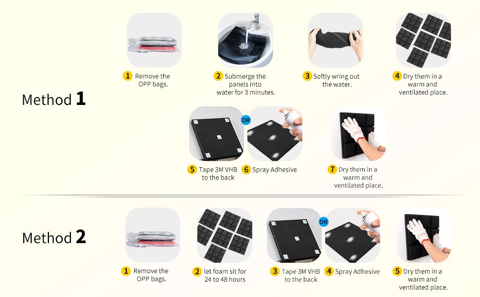 Acoustic Foam Sound Proof Padding