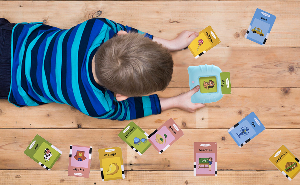 tollder flash card for 2-3 year old