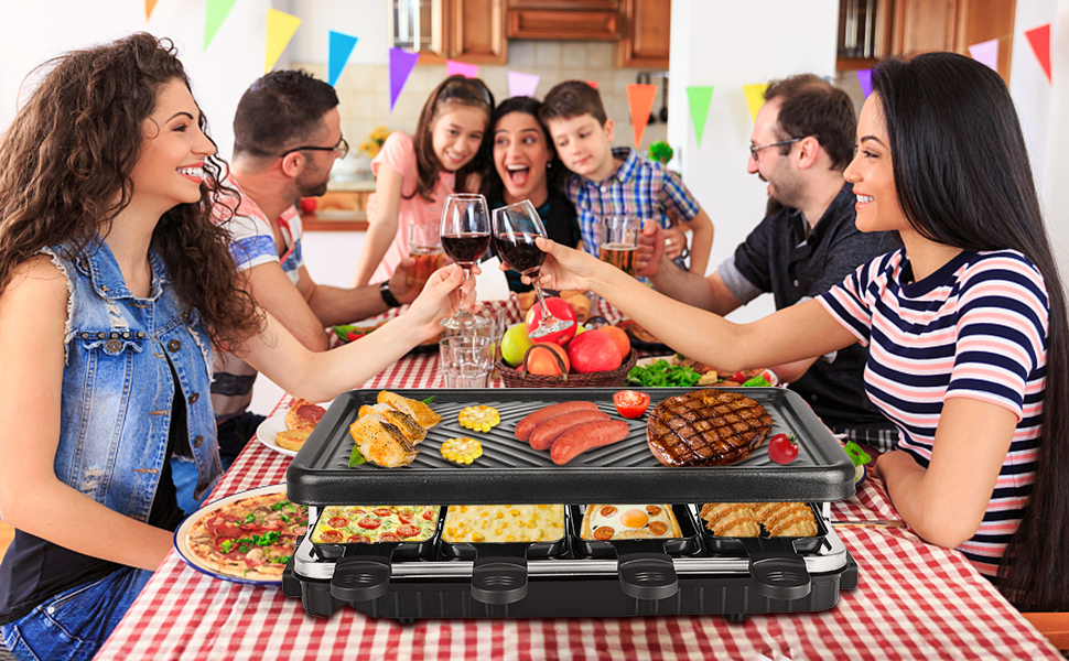 Raclette 5-6 Personen