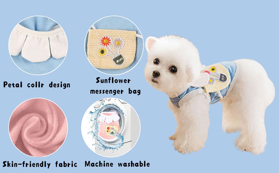 Dog T-Shirt for Small Medium Dogs