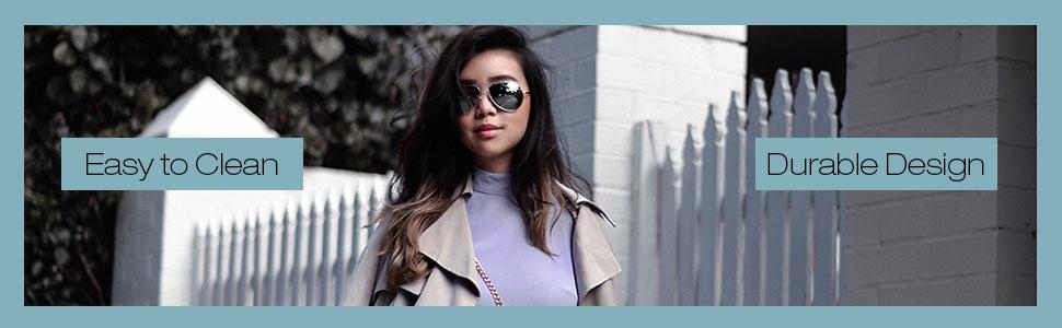 Durable sunglasses for women sunglass comfortable to wear uv400 ptoected lenses for girls
