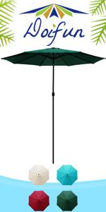 11ft Round Patio Umbrella